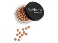 Пудра бронзового цвета в шариках