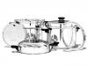 Набор посуды (6 предметов) iCook